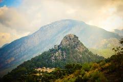 Türkische Berge Lizenzfreies Stockbild