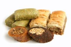 Türkische Bonbons Stockfotos