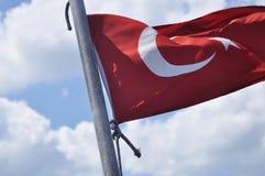 Türkische Flagge Lizenzfreies Stockbild