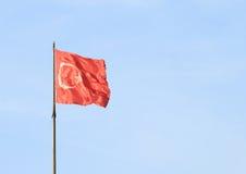 Türkische Flagge Lizenzfreie Stockfotos