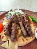 Türkische Fleischbälle Stockfoto