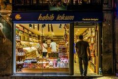 Türkische Freuden-Shop Lizenzfreies Stockfoto