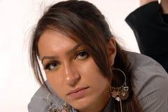 Türkische Geschäfts-Frau stockbild