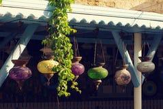 Türkische helle dekorative Lampen Stockfoto