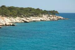 Türkische Küste Lizenzfreie Stockfotos