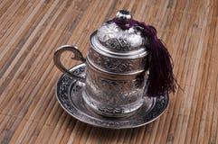 Türkische Kaffeetasse lizenzfreie stockfotos