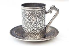 Türkische Kaffeetasse Lizenzfreies Stockfoto