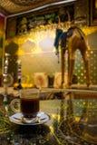 Türkische Kaffeetasse-Koffeinfreude Mexiko Stockfoto