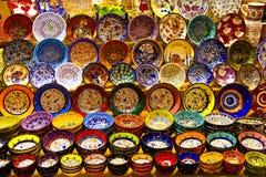 Türkische Keramik Stockbilder