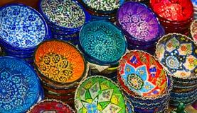 Türkische Keramik stockfotos