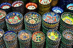 Türkische Keramik lizenzfreies stockbild