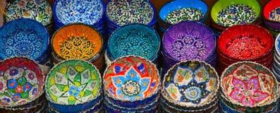 Türkische Keramik stockbild