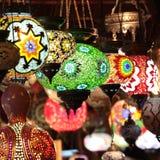 Türkische Lampen Stockfotografie