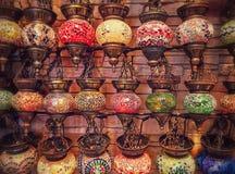Türkische Lampen Lizenzfreies Stockfoto