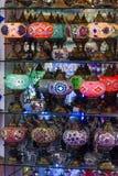 Türkische Laternen Stockfoto