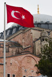 Türkische Markierungsfahne Lizenzfreie Stockbilder