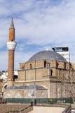 türkische Moschee in der Mitte der Stadt von Sofia, Bulgarien Lizenzfreie Stockfotos