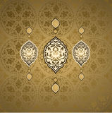 Türkische nahtlose Auslegung der traditionellen Osmane Lizenzfreie Stockbilder