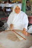 Türkische nationale Küche - Tortillas mit Fleisch Stockfotografie