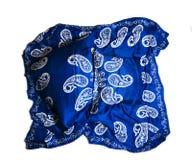 Türkische orientalische schöne Schals mit Bildern der natürlichen Seide auf einem weißen Hintergrund Lizenzfreie Stockfotos