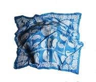 Türkische orientalische schöne Schals mit Bildern der natürlichen Seide auf einem weißen Hintergrund Lizenzfreies Stockfoto