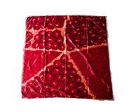 Türkische orientalische schöne Schals mit Bildern der natürlichen Seide auf einem weißen Hintergrund Lizenzfreie Stockfotografie