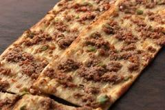 Türkische Pizza Stockfotografie