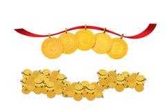 Türkische Republik-Golde Türkisches Goldenes Lizenzfreie Stockfotos