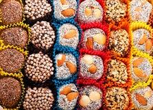 Türkische Süßigkeiten und Bonbons, geschmackvoll stockfotografie
