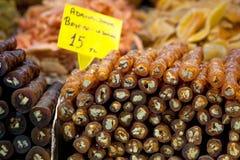 Türkische Süsse. Istanbul, die Türkei. Stockfotos
