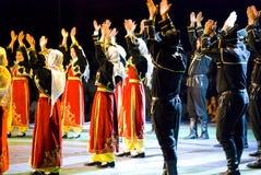 Türkische Tänzer stockfoto