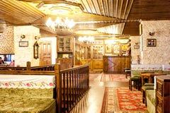 Türkische traditionelle Innenarchitektur Bursa die Türkei lizenzfreie stockfotografie