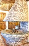 Türkische traditionelle Innenarchitektur Bursa die Türkei stockfotos