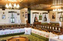 Türkische traditionelle Innenarchitektur Bursa die Türkei lizenzfreie stockbilder