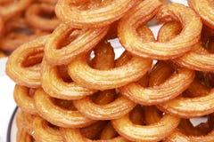 Türkische traditionelle süße Ringe Lizenzfreie Stockfotografie