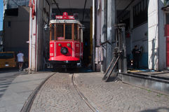 Türkische Tram stockbilder