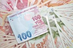 Türkische Währung Stockfotos