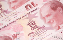 Türkische Währung Stockbild