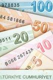 Türkische Währung Stockbilder