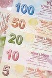 Türkische Währung Lizenzfreie Stockbilder