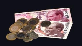 Türkische Währung Lizenzfreies Stockbild