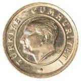 10 Türkischen kurus Münze Stockbild
