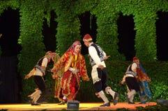 Türkischer Folkloretanz Lizenzfreies Stockfoto
