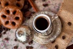 Türkischer Kaffee Stockbild
