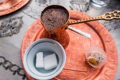 Türkischer Kaffee Lizenzfreies Stockbild
