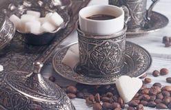 Türkischer Kaffee stockfotografie