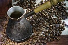 Türkischer Kaffee stockfoto