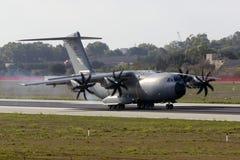 Türkischer A400M-Militärtransporter Lizenzfreie Stockfotos
