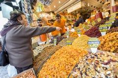 Türkischer nuts Bonbonfreudenbasar Stockfotografie