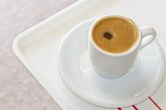 Türkischer oder griechischer Kaffee Stockbild